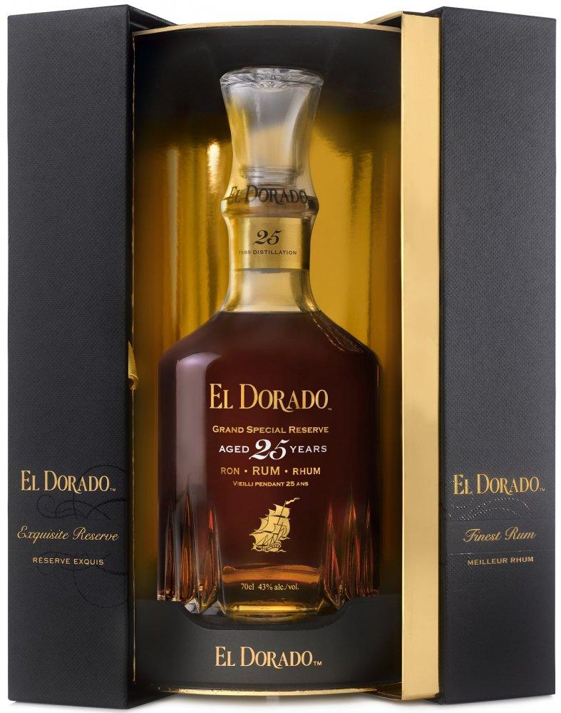 Rum El Dorado 25y 0,7l 43%