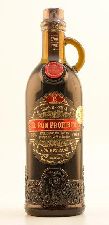 Rum El Ron Prohibido Solera 15y 0,7l 40%