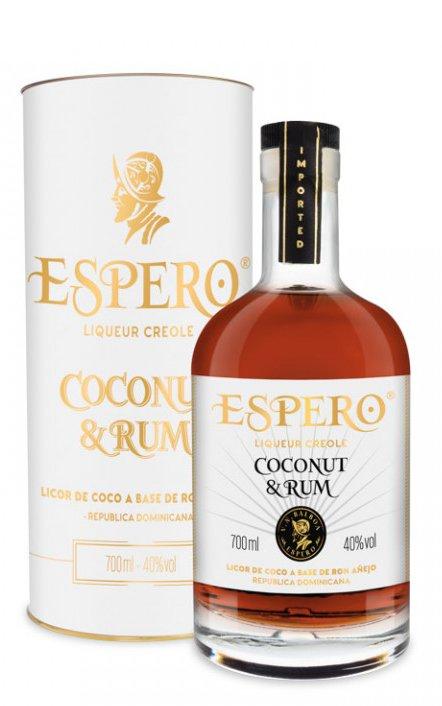Rum Espero Coconut & Rum 0,7l 40% Tuba
