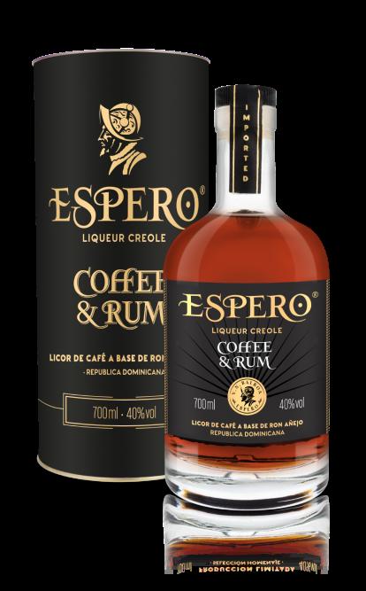 Rum Espero Coffee&Rum 7y 0,7l 40% Tuba