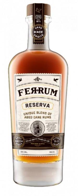 Rum Ferrum Reserva 0,7l 40%