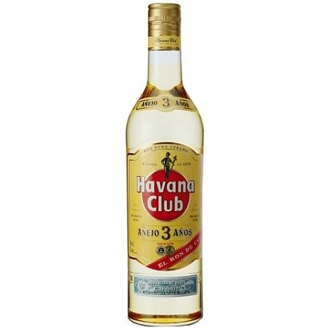 Rum Havana Club Anejo 3y 0,7l 37,5%