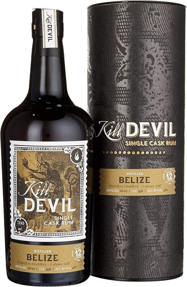 Rum Hunter Laing Kill Devil Belize 12y 0,7l 46% GB