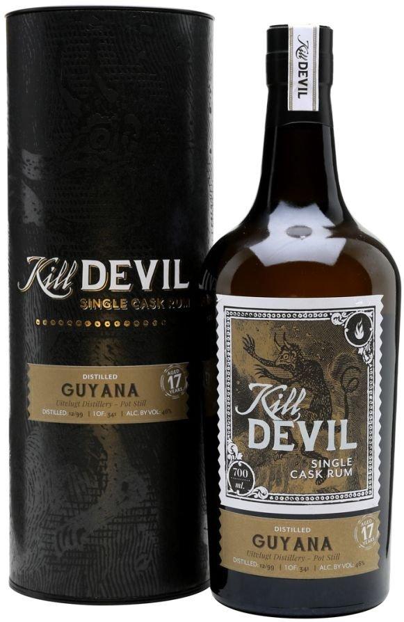 Rum Hunter Laing Kill Devil Guyana 17y 1999 0,7l 46% GB / Rok lahvování 2016