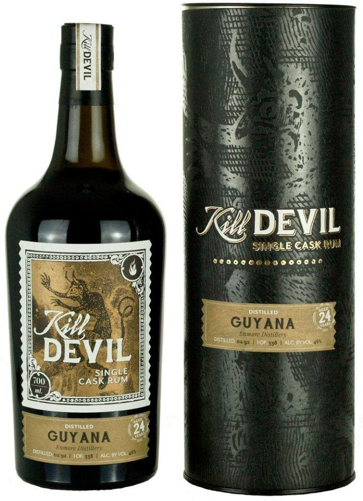 Rum Hunter Laing Kill Devil Guyana 24y 1992 0,7l 46% GB / Rok lahvování 2016