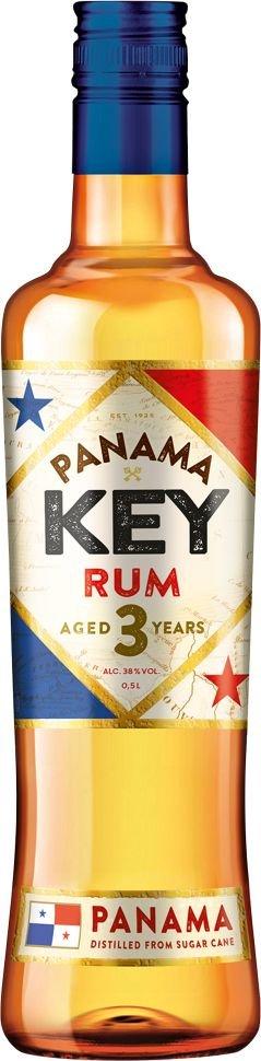 Rum Key Rum Panama 3y 0,5l 38%