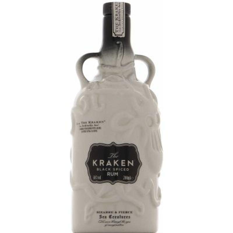 Rum Kraken Black Spiced Rum White Ceramic 2y 0,7l 40%