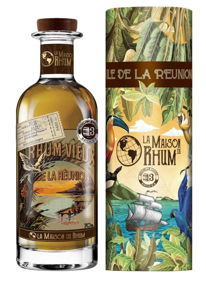 Rum La Maison Du Rhum Reunion No.3 10y 2010 0,7l 45% / Rok lahvování 2020