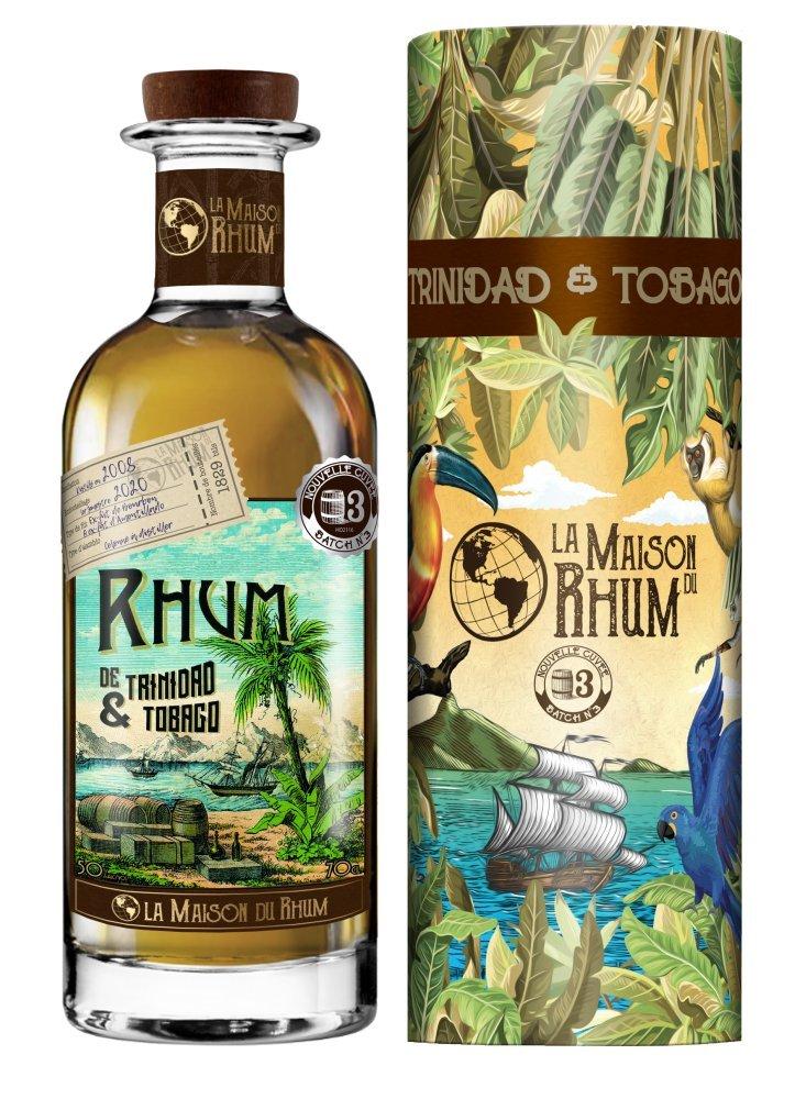 Rum La Maison Du Rhum Trinidad a Tobago No.3 12y 2008 0,7l 50% / Rok lahvování 2020