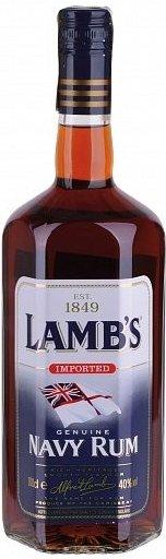 Rum Lambs Navy 4y 1l 40%