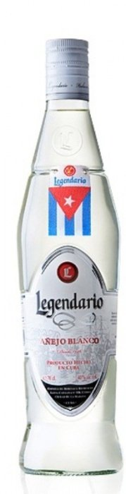 Rum Legendario Aňejo Blanco 4y 0,7l 40%