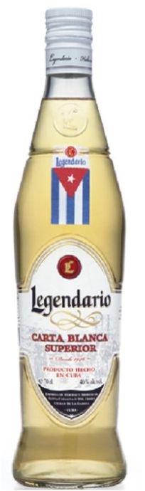 Rum Legendario Carta Blanca 0,7l 40%