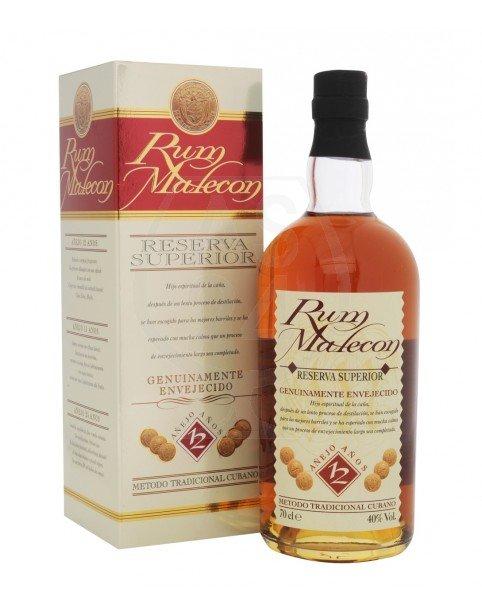 Rum Malecon 12y 0,7l 40%