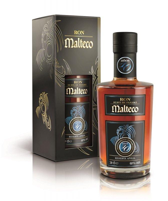 Rum Malteco 10y 0,2l 40%