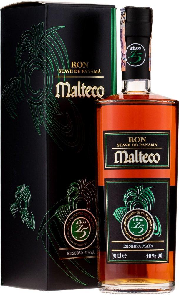 Rum Malteco 15y 0,7l 40% GB