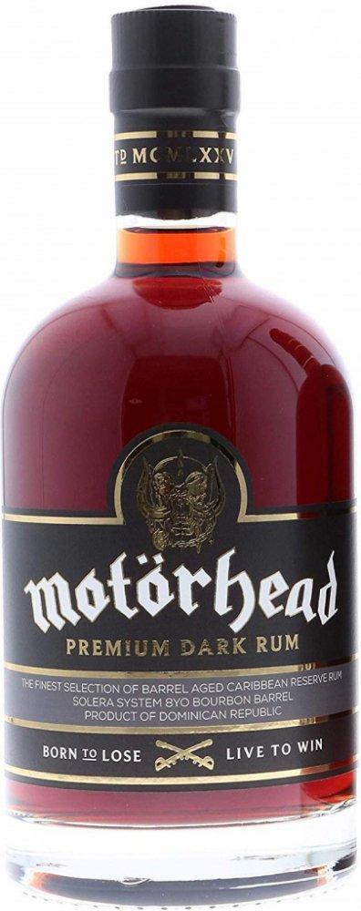 Rum Motorhead Dark Rum 8y 0,7l 40%