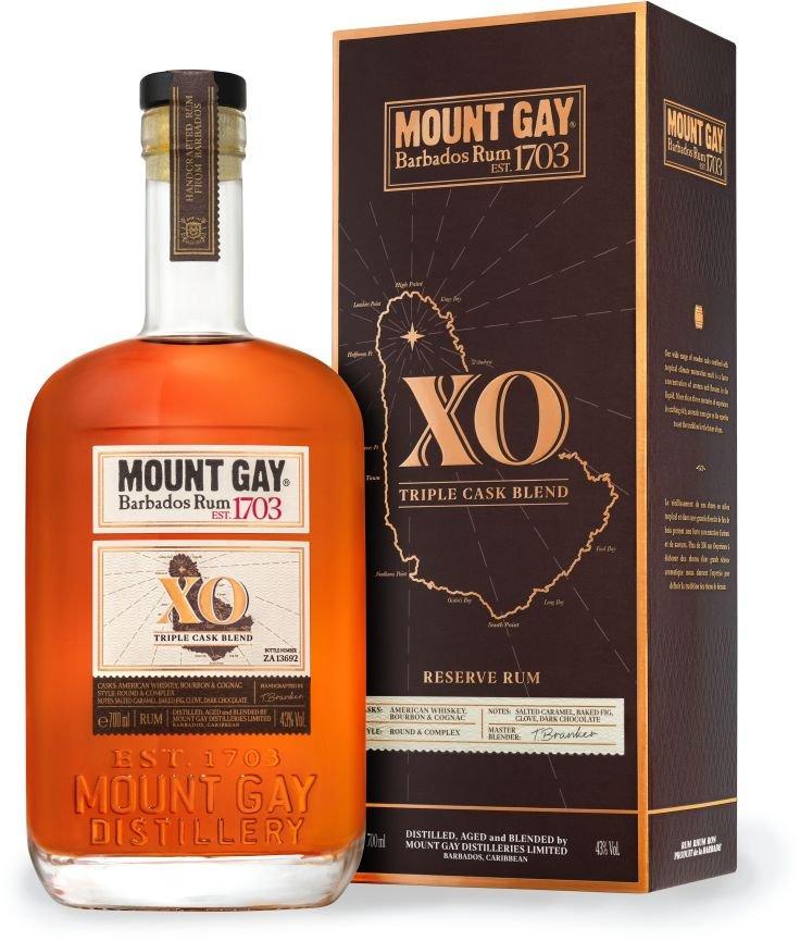Rum Mount Gay XO 0,7l 43%