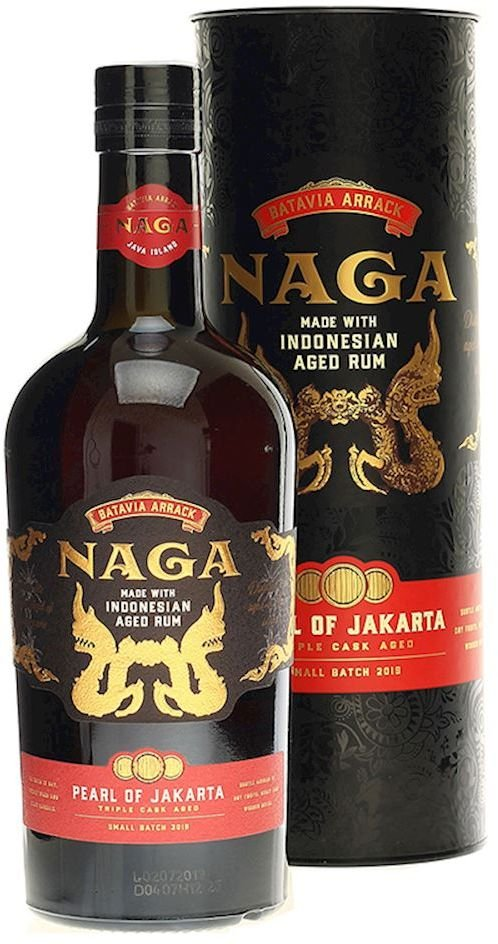 Rum Naga Pearl of Jakarta 0,7l 42,7% GB