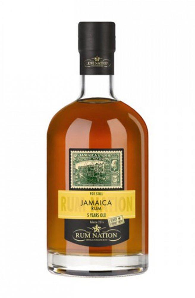 Rum Nation Jamaika 5y 0,7l 50%
