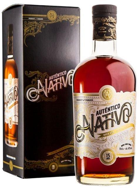 Rum Nativo Autentico 15y 0,7l 40% GB