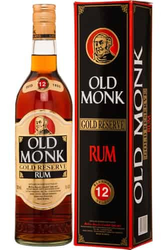 Rum Old Monk Gold Reserve 12y 0,7l 42,8% GB