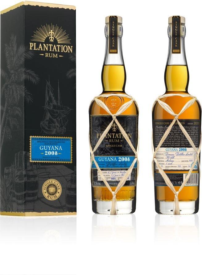 Rum Plantation Guayana 12y 2008 0,7l 47,6% GB L.E. / Rok lahvování 2020