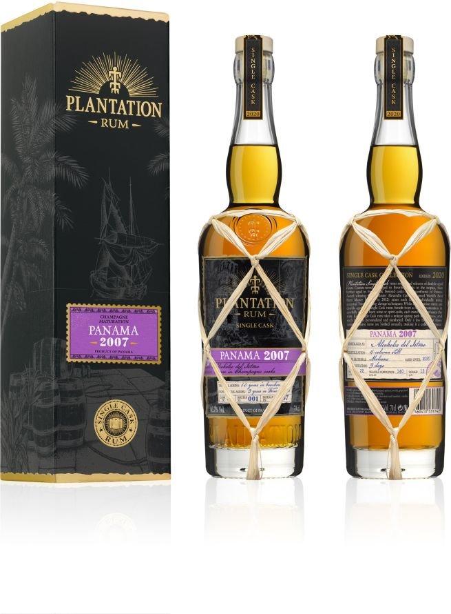 Rum Plantation Panama 13y 2007 0,7l 46% GB L.E. / Rok lahvování 2020