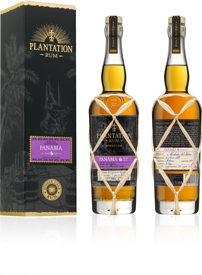 Rum Plantation Panama 6y 2014 0,7l 45,2% GB L.E. / Rok lahvování 2020