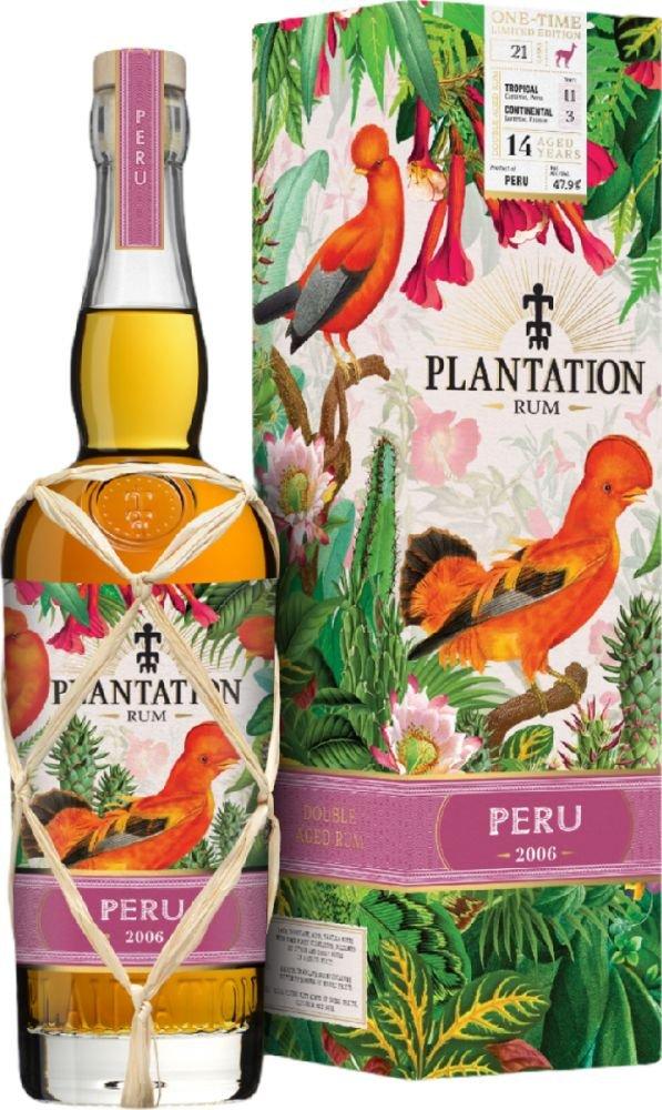 Rum Plantation Peru 14y 2006 0,7l 47,9% GB L.E. / Rok lahvování 2020