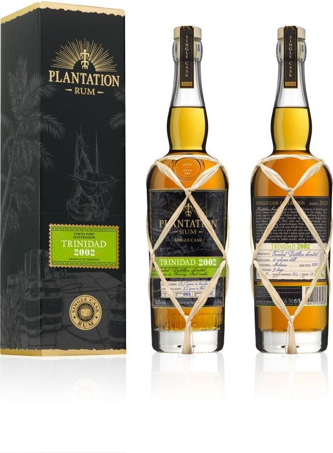 Rum Plantation Trinidad 18y 2002 0,7l 48% GB L.E. / Rok lahvování 2020