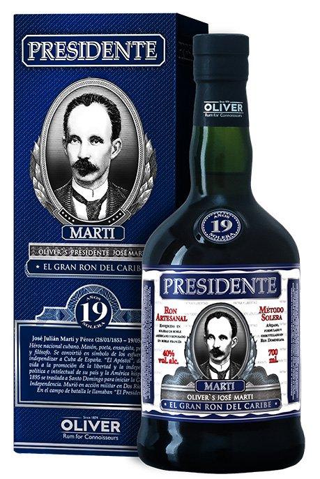 Rum Presidente Marti 19y 0,7l 40%