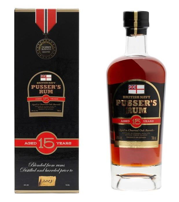 Rum Pusser's British Navy Rum 15y 0,7l 40% GB