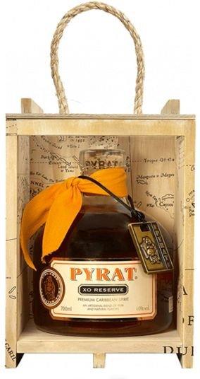 Rum Pyrat XO 15y 0,75l 40% Dřevěný box