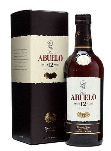 Rum Ron Abuelo 12y 0,7l 40% GB