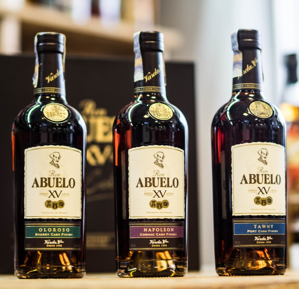 Rum Ron Abuelo Finish Collection 15y 3×0,2l 40% GB