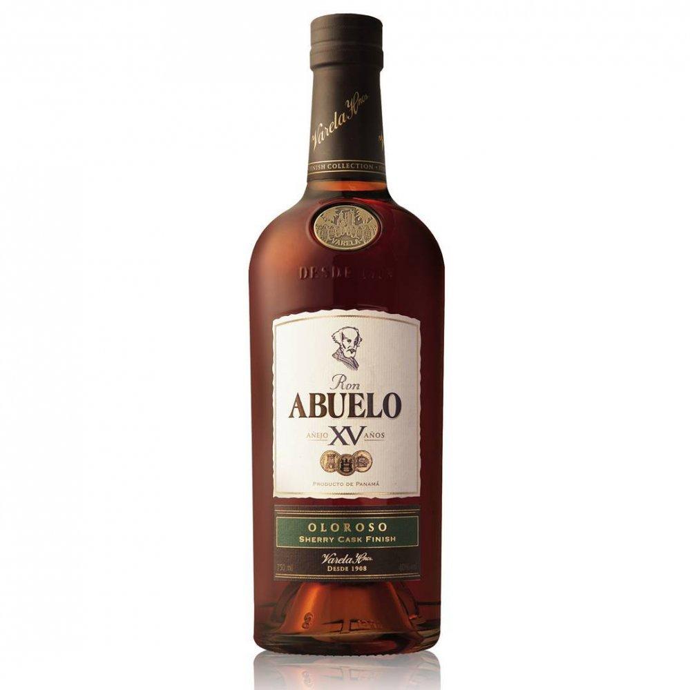 Rum Ron Abuelo Oloroso 15y 0,7l 40% GB