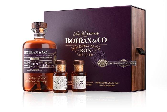 Rum Ron Botran 75 Aniversario 25y 0,5l 40% GB L.E.