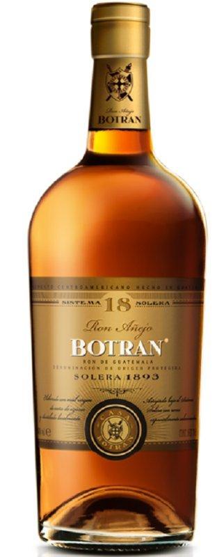 Rum Ron Botran Solera 1893 18y 0,7l 40%