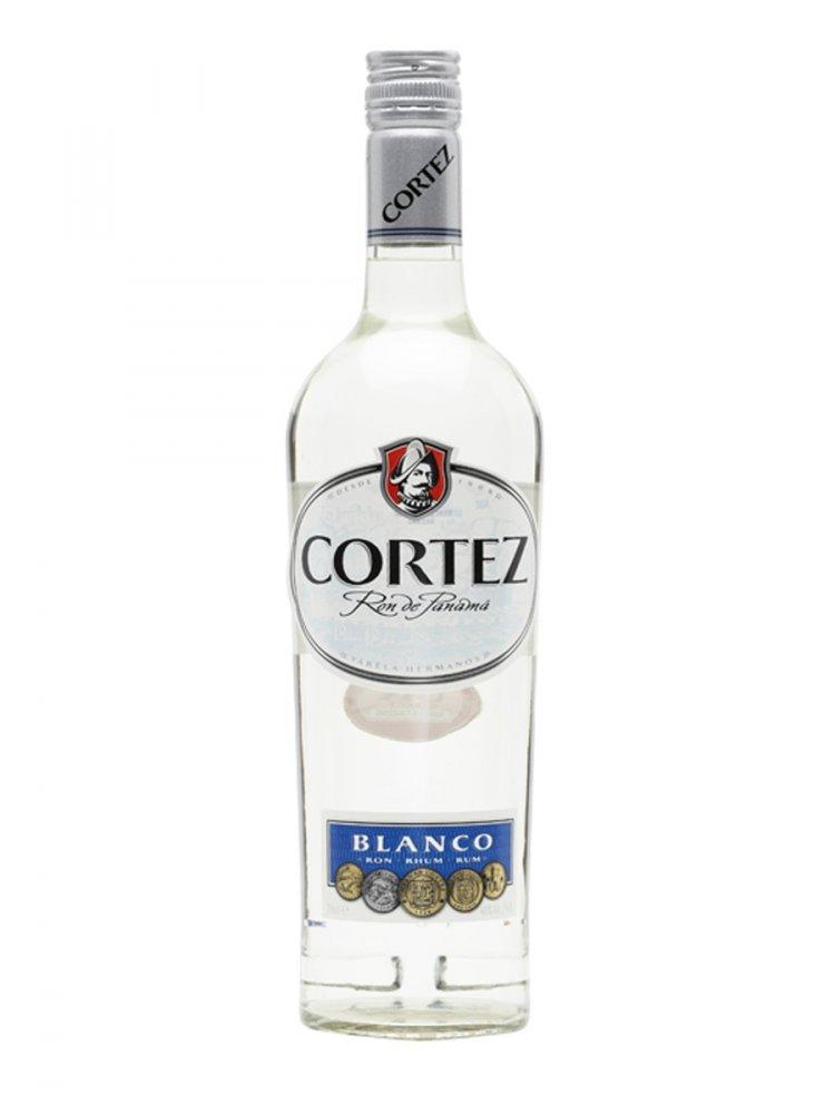Rum Ron Cortez Blanco 1l 40%