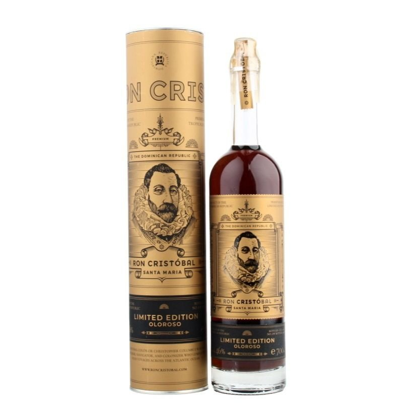 Rum Ron Cristóbal Santa Maria Oloroso Limited Edition 2006 0,7l 46% L.E. Tuba / Rok lahvování 2020