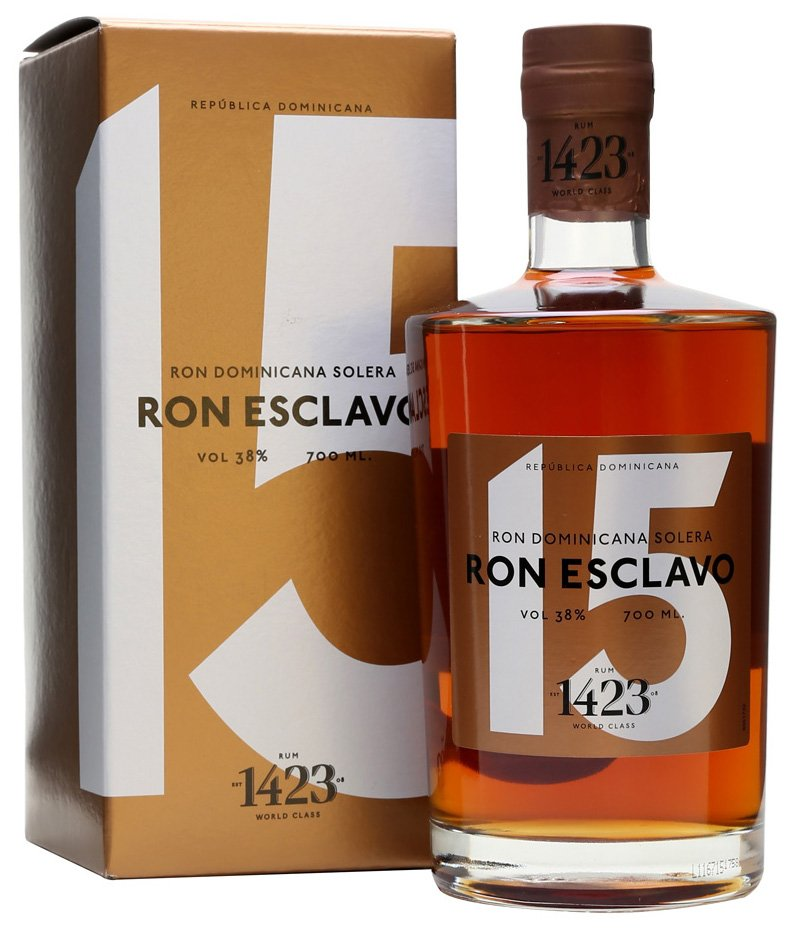 Rum Ron Esclavo 15y 0,7l 38%