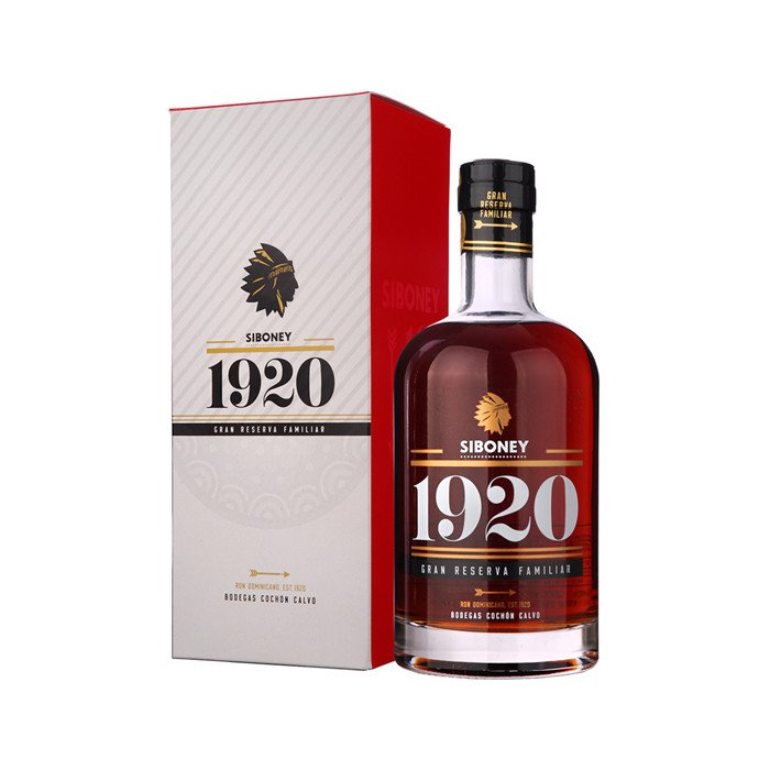 Rum Ron Siboney 1920 Reserva Familiar 0,7l 37,5%