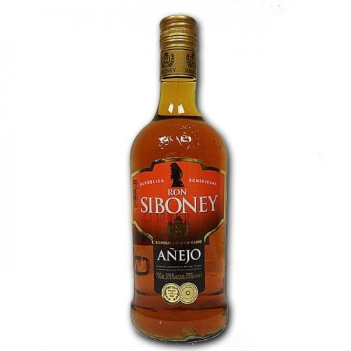 Rum Ron Siboney Añejo 0,7l 37,5%