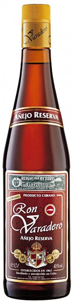 Rum Ron Varadero Añejo Reserva 0,7l 38%