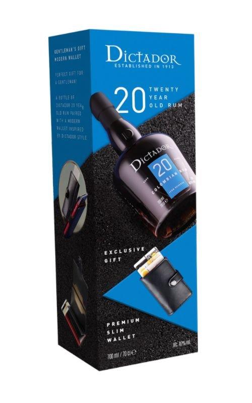 Rum Rum Dictador 20y 0,7l 40% + peněženka
