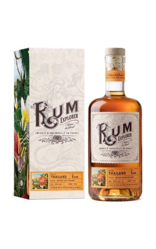 Rum Rum Explorer Thailand 0,7l 42%