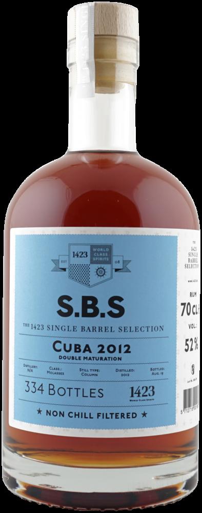 Rum S.B.S Cuba 7y 2012 0,7l 52% L.E. / Rok lahvování 2019
