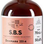 Rum S.B.S Denmark 4y 2014 0,7l 50,6% GB L.E.