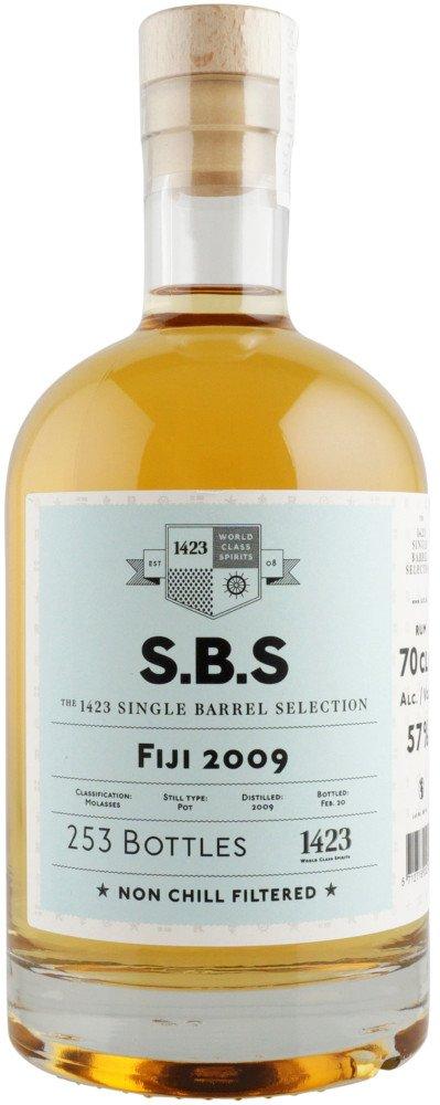 Rum S.B.S Fiji 11y 2009 0,7l 57% L.E. / Rok lahvování 2020