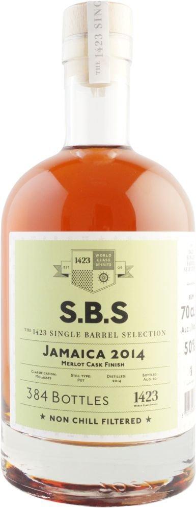 Rum S.B.S Jamaica 6y 2014 0,7l 50% / Rok lahvování 2020